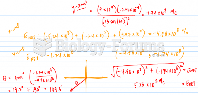. Calculate the net electric field at point B
