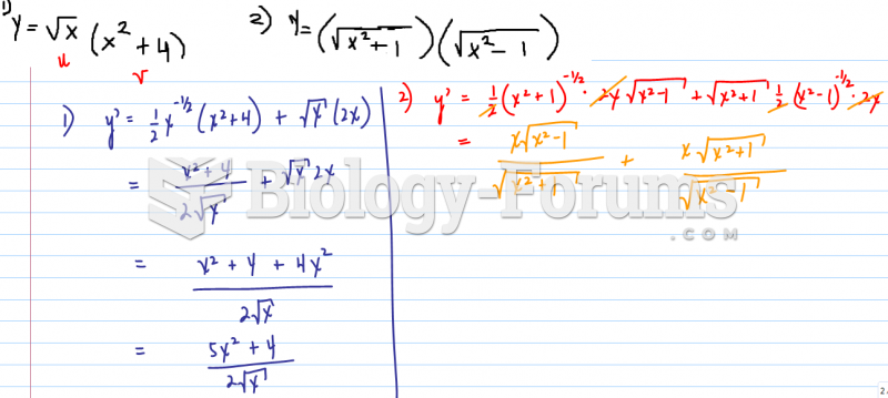 Find derivative using product rule