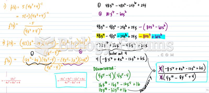 Find derivative using quotient rule