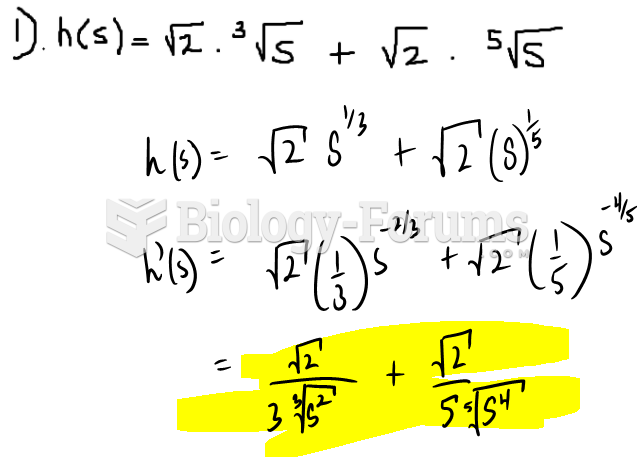 Use the power rule to find derivative