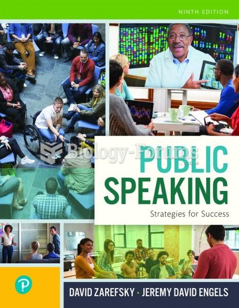 Public Speaking: Strategies for Success, 9th