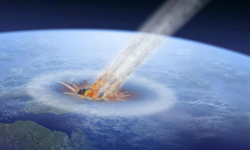 Largest Asteroid To Hit Earth - Pics about space