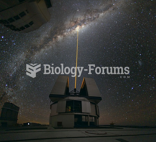 A laser-guided observation of the Milky Way Galaxy at the Paranal Observatory in Chile in 2010.