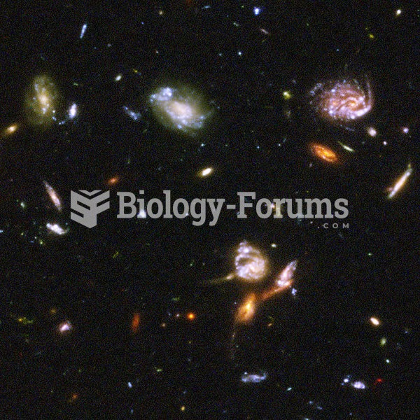 Part of the Hubble Ultra-Deep Field image showing a typical section of space containing galaxies int