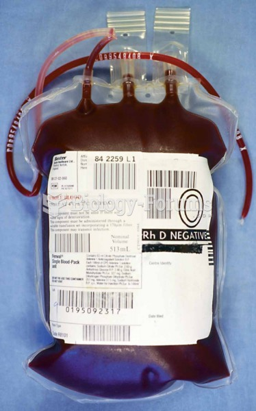 Unit of blood.