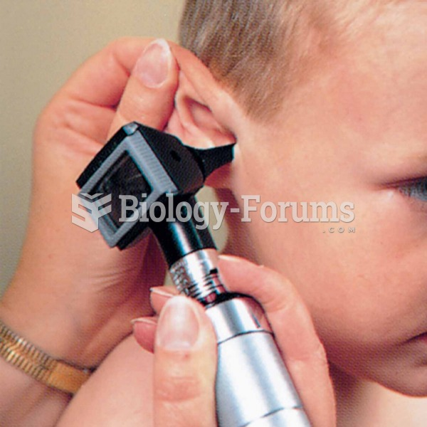 To examine a child's ear, the pinna should be pulled back and up for children over 3 years; the pinn
