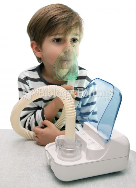 Nebulizer. The nebulizer converts a liquid medication to a mist that is easily inhaled. A face mask,