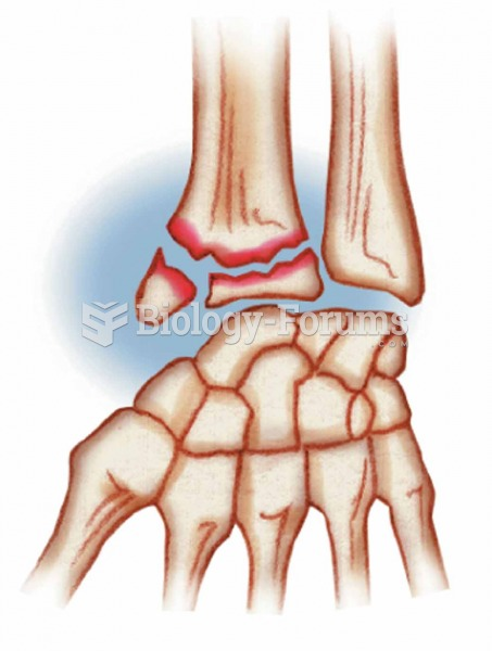 Colles' A break in the distal portion of the radius; often the result of reaching out to cushion a f