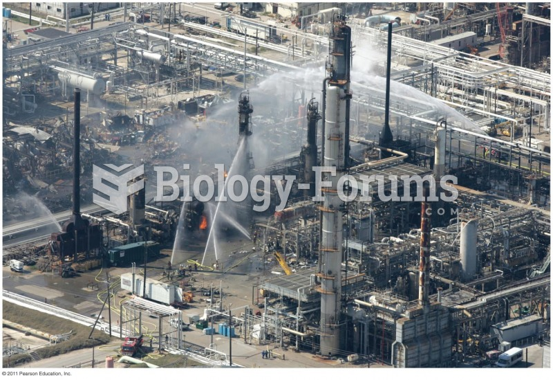 Aftermath of the 2005 Texas City Refinery Explosion