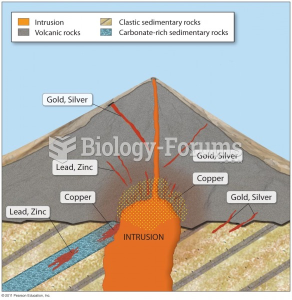 Ore Deposits That Can Form in Stratovolcanoes