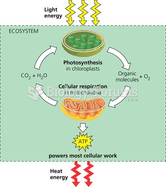 Energy flow and chemical recycling in ecosystems.