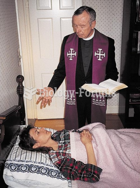 Rituals such as the sacrament of the Anointing of the Sick are important expressions of religious be