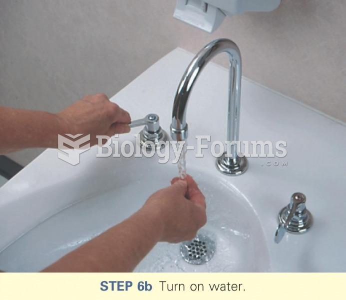Turn on water
