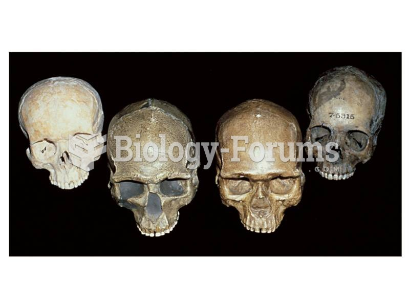 Fossil remains of anatomically modern humans from the Czech Republic and from China (center crania)