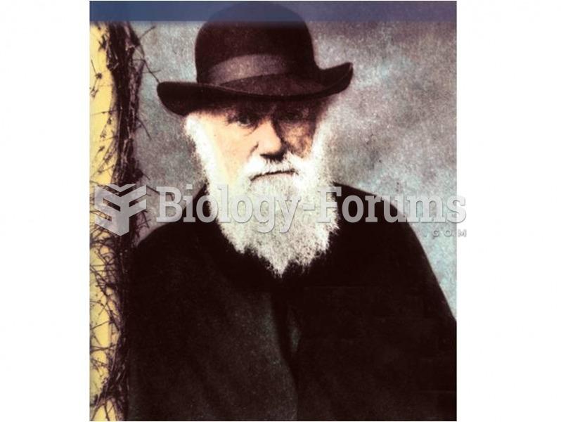 Charles Robert Darwin (1809-1882).