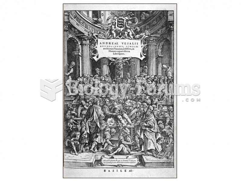 Vesalius's De Humani Corporis Fabrica was an important early work on the human species.