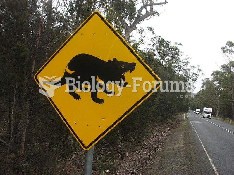 A road sign telling drivers that there may be devils nearby