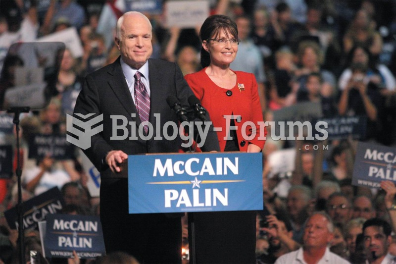 Republican candidates John McCain and Sarah Palin campaign at Franklin & Marshall University in