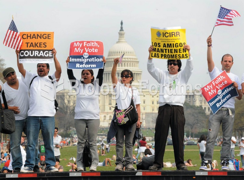 In 2010 protesters in Washington, D.C., demanded that the Obama administration support liberalized i