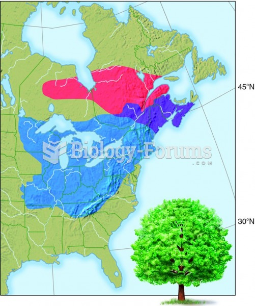 The range of sugar maples could be reduced by global warming