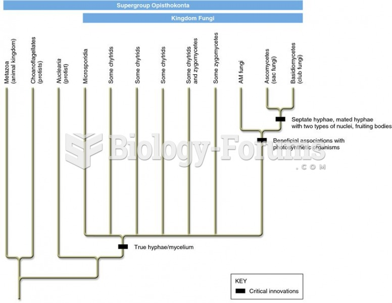 Evolutionary relationships of the fungi