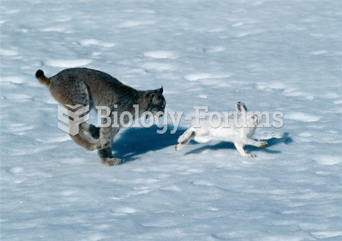 Lynx-hare interactions have served as a model system for the study of the effects o
