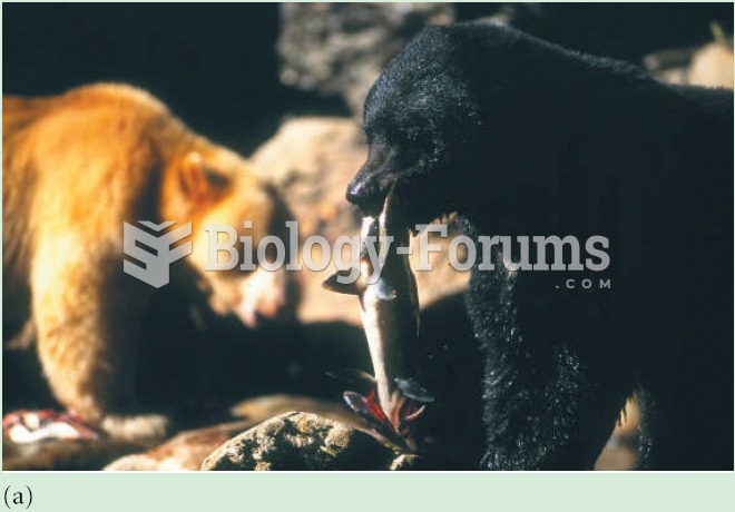 (a) Feeding by bear on salmon results in large allochthonous inputs of nutrients into (b) the forest