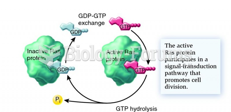 Ras signalling activity is governed by bound GDP/GTP