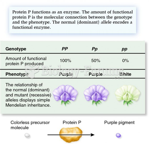 How genes produce proteins that determine traits in a simple dominant-recessive relationship.