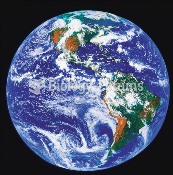 From space earth shows itself as a planet covered mostly by water.