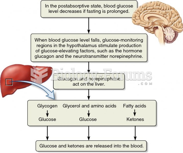 The role of the liver in fuel supply to the blood.