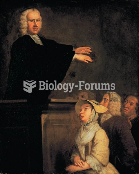 In this painting evangelist George Whitefield appears to be cross-eyed. This is no fault of John Wol