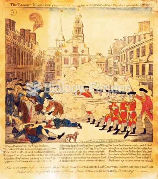 This engraving of the Boston Massacre (1770) became the most reprinted depiction of the event, and p