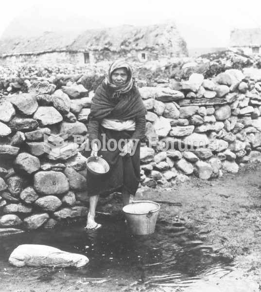 This fisherwoman from Kerry, one of the poorest counties in Ireland, may have been one of the many t