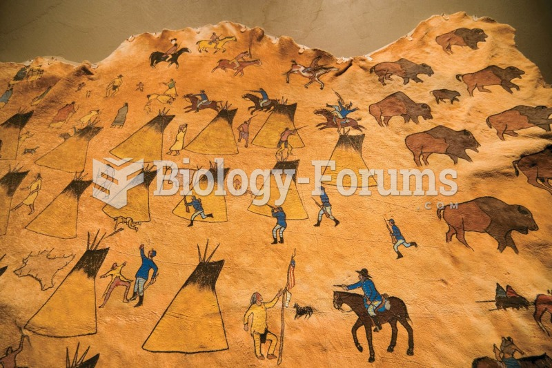 This Native American depiction of the Sand Creek Massacre, painted on a buffalo hide, shows the Indi