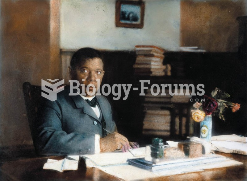 Booker T. Washington in his office at Tuskegee Institute, 1900. Washington chose a policy of accommo
