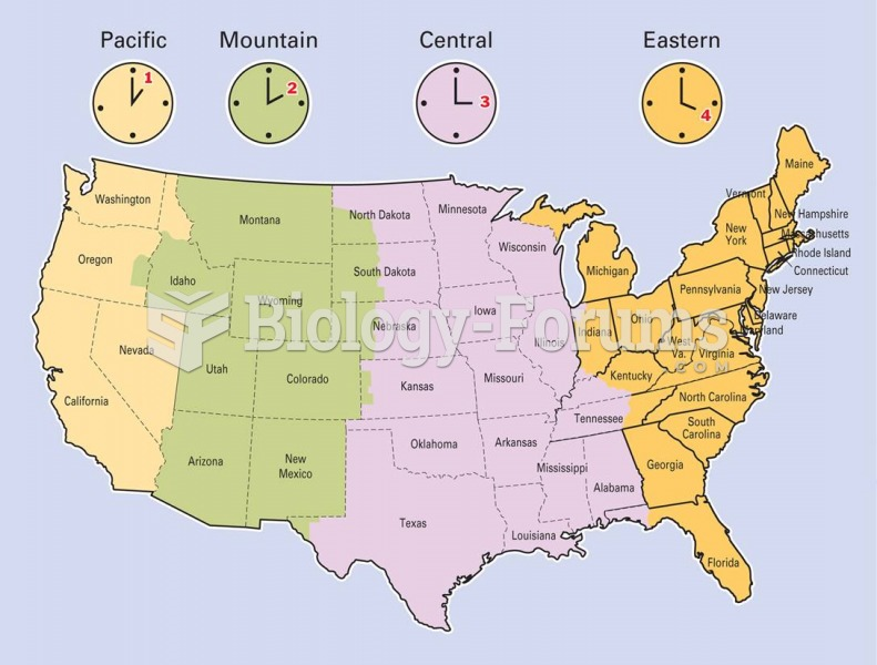 Having a time zone map located near the telephone will assist you when making long distance calls ou