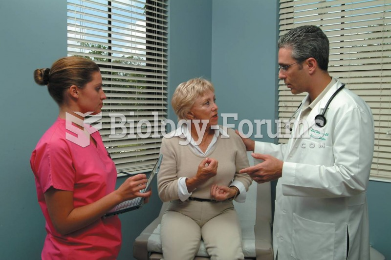 A medical assistant listening to the patient and physician discuss the patient's care.