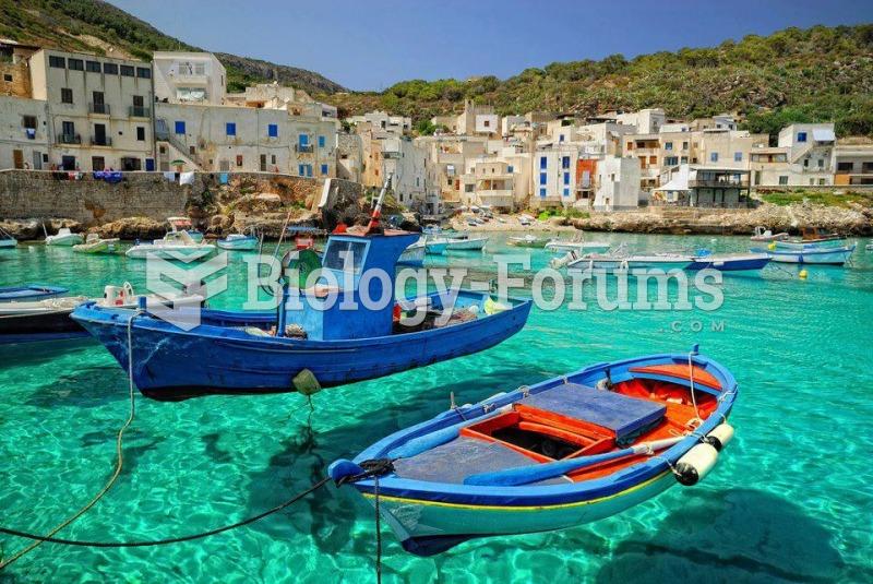 Italian Islands - Levanzo, Sicily
