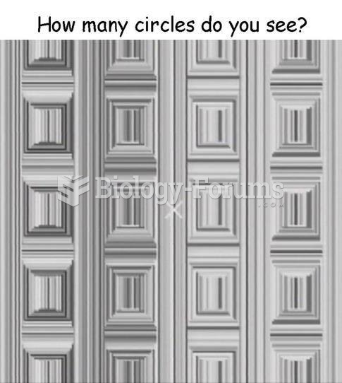 How long does it take you to see the circles?
