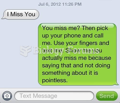 I miss you, text