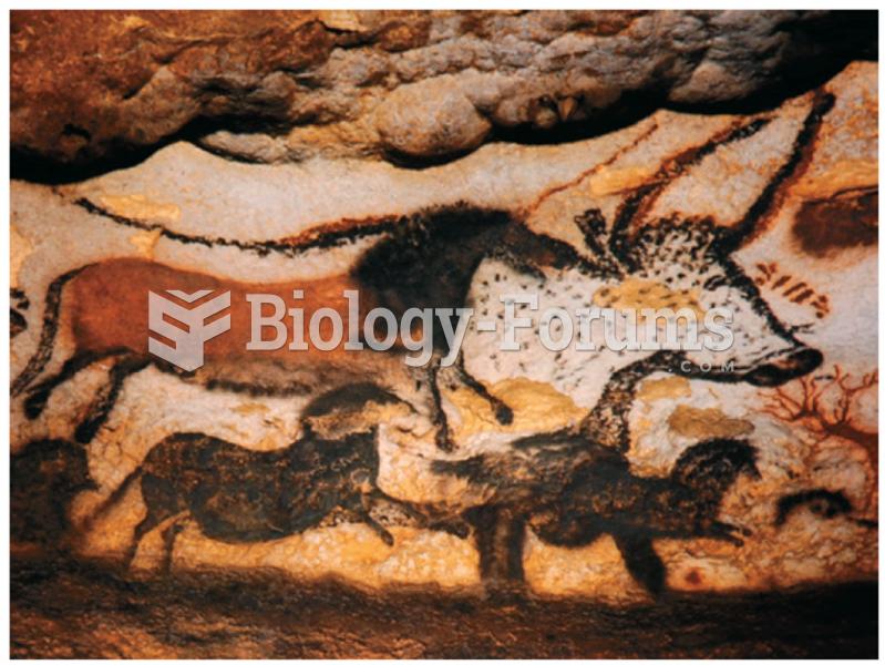 Cave painting at Lascaux, France