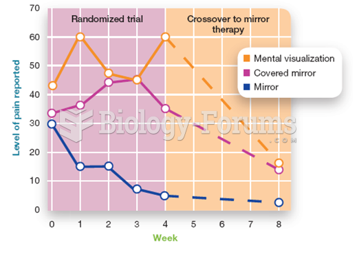 Mirror Box Therapy Compared to Mental Visualization and a Control Condition