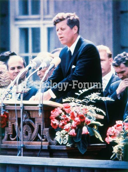 """""""Ich bin ein Berliner"""" (I am a Berliner), Kennedy declared from a balcony in West Berlin in June ..."""