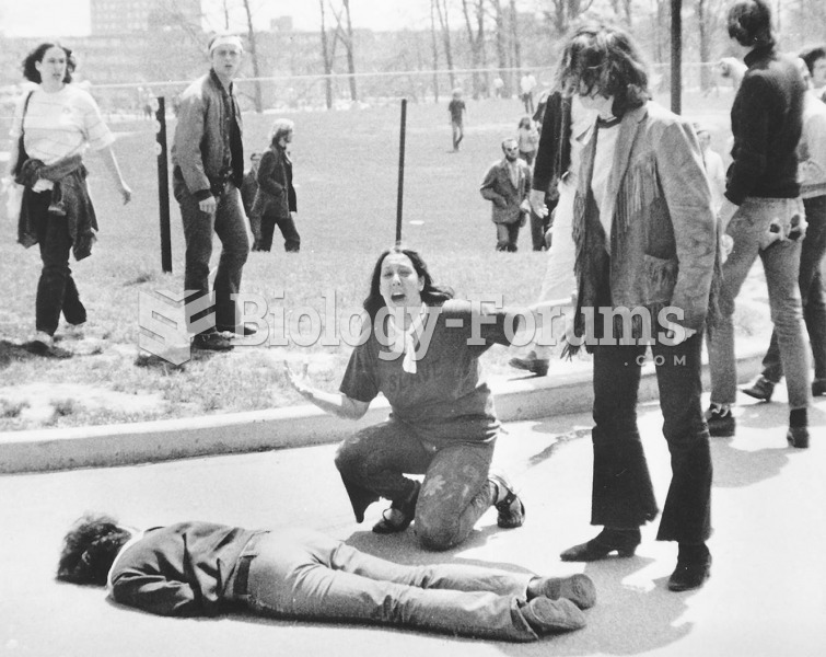 National Guardsmen firing into a crowd of antiwar protesters at Kent State University killed four ...