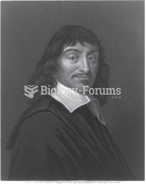 René Descartes (1596–1650). French philosopher considered the founder of modern philosophy. A ...