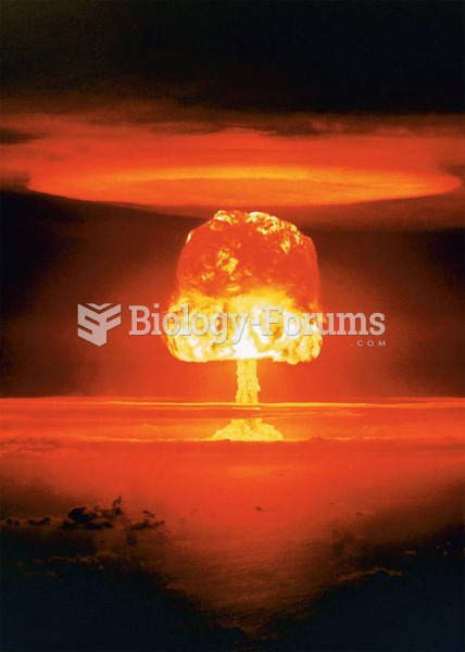 An eleven-megaton hyrdrogen bomb is detonated over Bikini Atoll in March 1954. One megaton had the ...