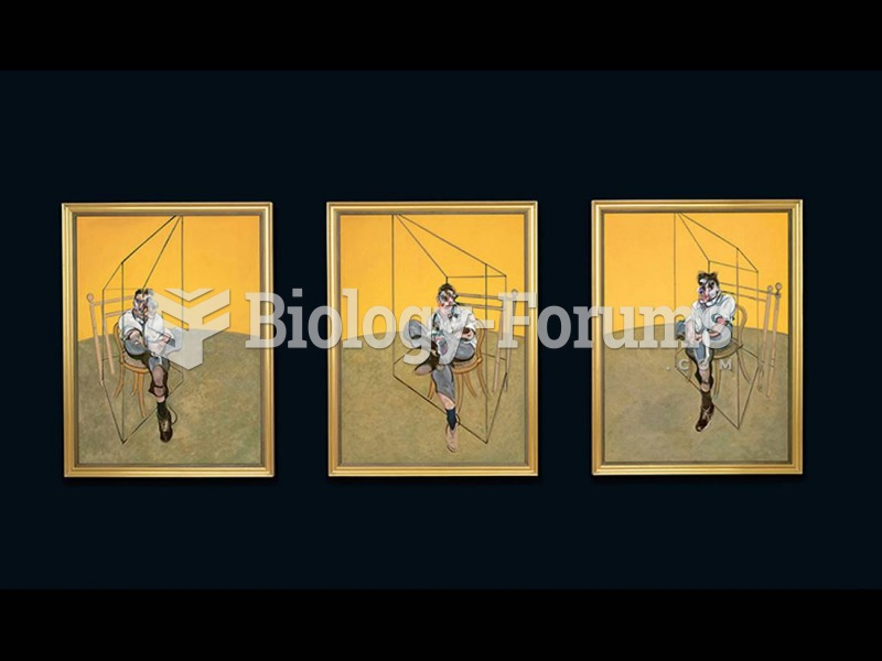 Francis Bacon, Three Studies of Lucian Freud.