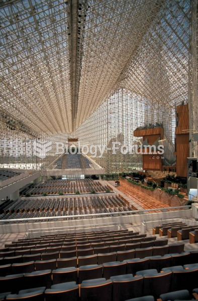 The Crystal Cathedral was erected in 1980 in Garden Grove, California, by Dr. Robert H. Schuller, a ...