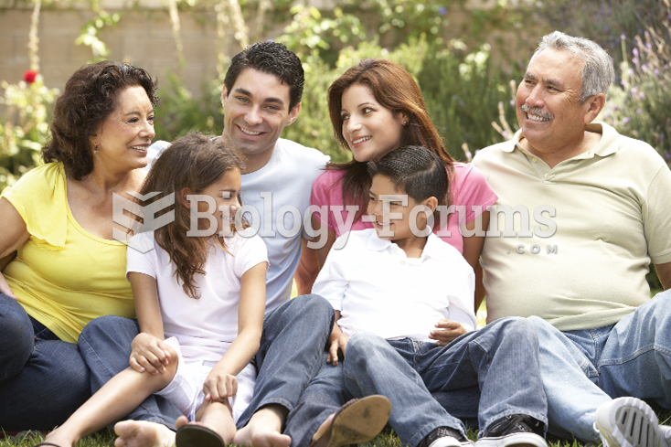Resemblances in psychological traits among family members can be used to tease apart the ...